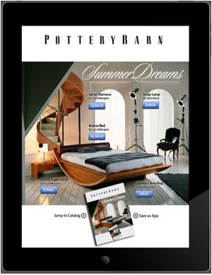 Tablet advertising
